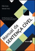 Livro - Manual da sentença cível - 1ª edição de 2019 -