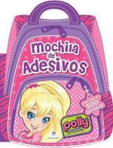 Livro Mochila de Adesivos Polly Editora Ciranda Cultural - Ciranda Cultural