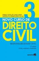 Livro - Novo curso de direito civil 3 : Responsabilidade civil - 17ª edição de 2019 -