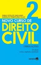 Livro - Novo curso de direito civil : Obrigações - 20ª edição de 2019 -