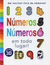 Livro - Números números em todo lugar -