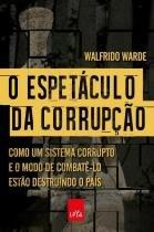 Livro - O espetáculo da corrupção -