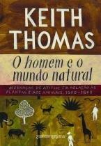 Livro - O homem e o mundo natural -