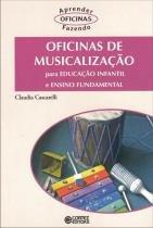 Livro - Oficinas de musicalização -
