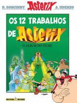 Livro - Os 12 trabalhos de Asterix (álbum do filme) -