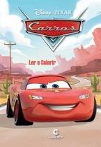 Livro para Ler e Colorir Carros Disney Médio Culturama - Festabox