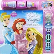 Livro Princesas Disney Veja a Magia Editora Melhoramentos - Editora Melhoramentos