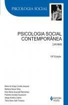 Livro - Psicologia Social Contemporânea: Livro Texto - Editora