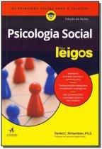 Livro - Psicologia Social Para Leigos - Edicao De Bolso - Alta books