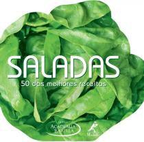 Livro - Saladas - 50 das melhores receitas