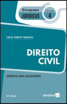 Livro - Sinopses jurídicas: Direito Civil - 20ª edição de 2019 -
