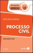 Livro - Sinopses jurídicas: Processo Civil - 21ª edição de 2019 -