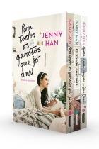 Livro - Trilogia Para todos os garotos que já amei Box com os 3 volumes da trilogia