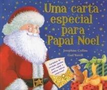 Livro - Uma carta especial para papai Noel -