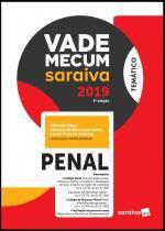Livro - Vade Mecum penal - 3ª edição de 2019 -