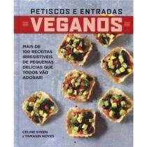Livro - Veganos, petiscos e entradas -