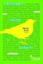 Livro - Verso livre -