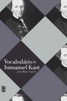 Livro - Vocabulário de Immanuel Kant -