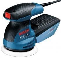 Lixadeira Excêntrica 250W com Coletor de Pó GEX 125 1 AE Profissional Bosch - Bosch