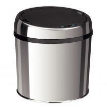 Lixeira em Aço Inox Automática com Sensor Easy 6 Litros - Cinza - Tramontina