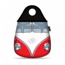 Lixeira para Carro Kombi Vermelha Vintage - Gorila Clube