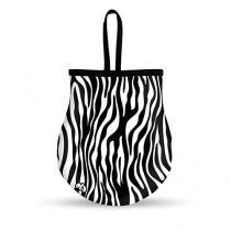 Lixeira Para Carro Zebra - Gorila Clube