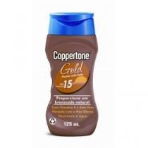 Loção Bronzeadora Coppertone Gold FPS 15 125ml - BAYER