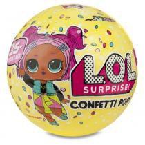 LOL boneca CONFETTI POP 9 surpresas série 3 Candide 8906 -