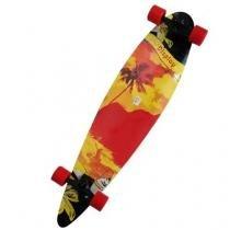 Longboard Skate Abec 9 Rolamento Shape Rodas Completo Radical Modelo A (SKT-9) - Braslu