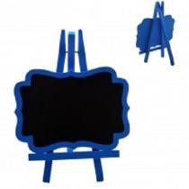 Lousa quadro negro em madeira porta recados com cavalete decorativo - Gimp