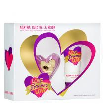 Love Forever Love Agatha Ruiz de La Prada - Feminino - Eau de Toilette - Perfume + Gel de Banho - Agatha Ruiz de La Prada