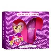 Love Forever Love Agatha Ruiz de La Prada - Feminino - Eau de Toilette - Perfume + Loção Corporal -
