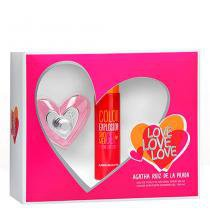 Love Love Love Agatha Ruiz de La Prada - Feminino - Eau de Toilette - Perfume + Gel de Banho - Agatha Ruiz de La Prada