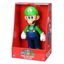 Luigi Mario Bros Super Boneco 20cm MF Imports
