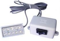 Luminária para máquinas 10 leds - Sun special