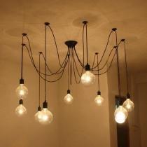 Luminária Pendente Retro Cascata De Luz Industrial Pelegrin PEL-030 - Pelegrin