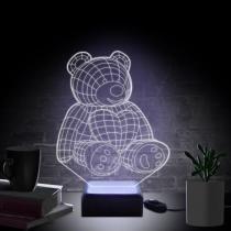 Luminária Ursinho - Acrilize