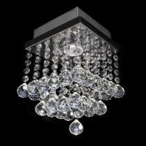 Lustre cristal original esfera pirâmide 17x17x17cm - jp-shigab-17 - Hunter