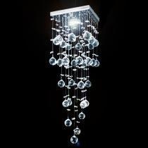Lustre de cristal mie quadrado 17x17x65cm - jp mie 17 - Hunter