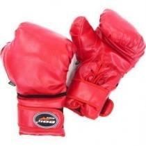 Luva de Boxe 16oz vermelha Polimet - Polimet