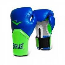 Luva de Boxe Everlast Pro Style 12Oz azul/verde - Everlast