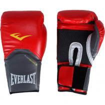 Luva de Boxe Everlast Pro Style 14Oz Vermelha - Everlast