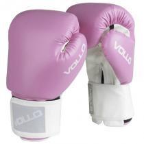 Luva de Boxe Vollo Combat VFG30310 10 Oz Rosa - Vollo
