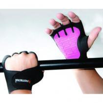 Luva de Musculação Gel Rosa - Prottector Variação:G -
