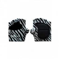 Luva de Musculação P Feminina Zebra HammerHead -