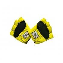 Luva em nylon (amarela) - Músculos na Web - Músculos na Web
