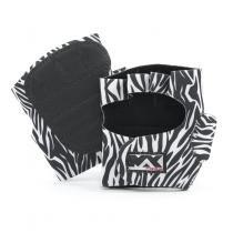 Luva para Musculação de Zebra - M - Bijoulux