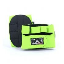 Luva para Musculação Meia Palma  Verde - G - Bijoulux