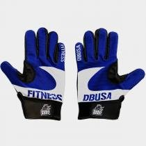Luva X Fitness - Azul - Durabody - Dura body usa