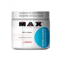 M - tor leucine 100g max titanium - aminoacidos - Chocolate - Max titanium